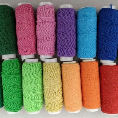 Нитка-резинка цветная
