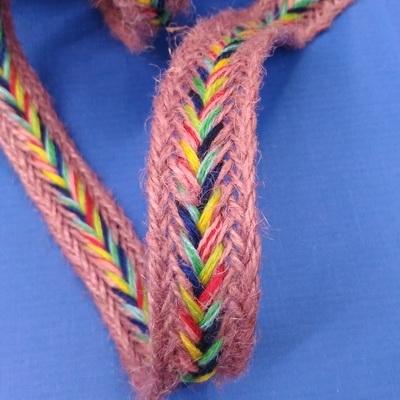 Тесьма декоративная плетёная