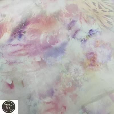 Органза цветная
