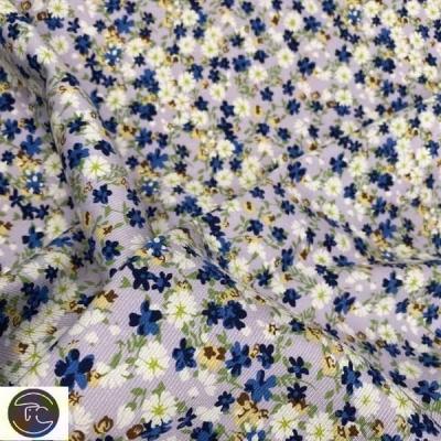 Штапель цветы лавандовые