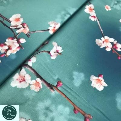"Штапель ""Весенний цвет"" №3"