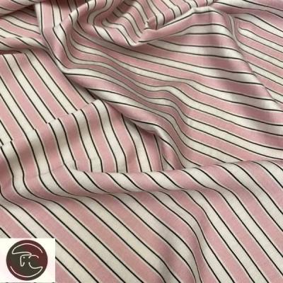 Рубашечная полоска розовая