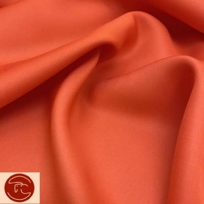 Костюмная ткань оранжевый